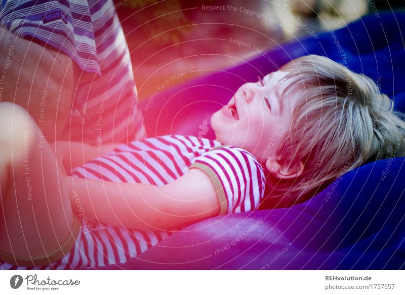 Human being Child Man Joy Senior citizen Funny Boy (child) Family & Relations Playing Laughter Happy Garden Together Masculine Contentment Lie