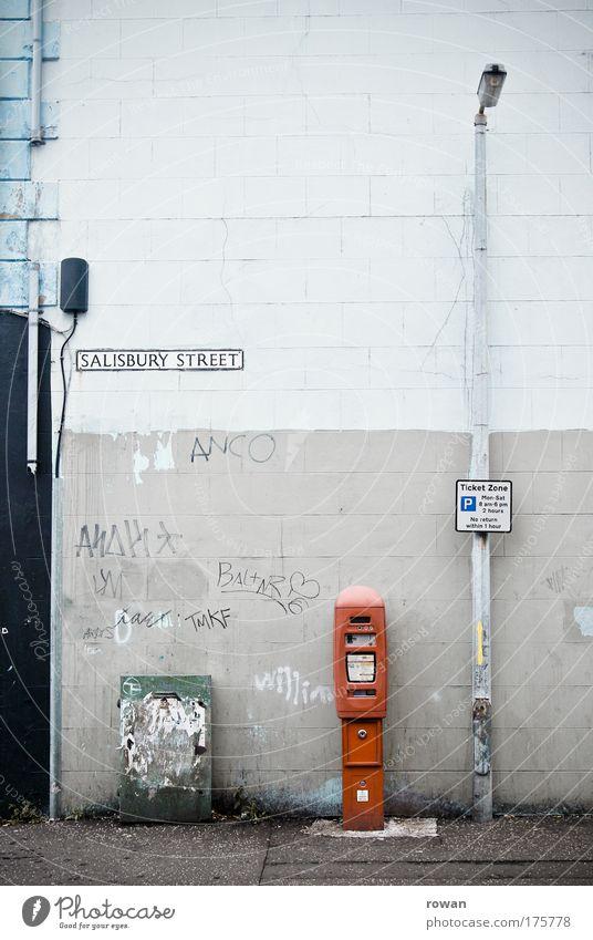 Old City Street Dark Wall (building) Sadness Wall (barrier) Building Graffiti Dirty Architecture Transport Facade Gloomy Broken