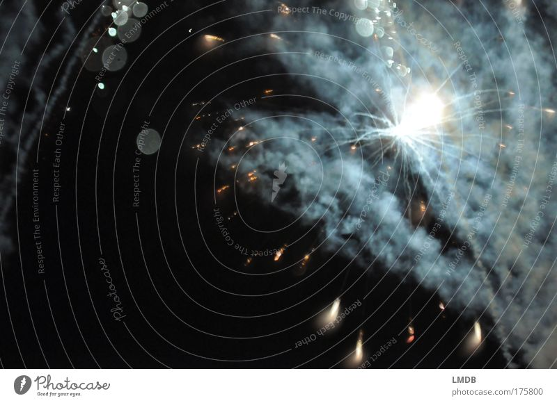 White Black Bright Feasts & Celebrations Stars Smoke Firecracker Event Silver Long exposure Explosion Night life Point of light Meteor