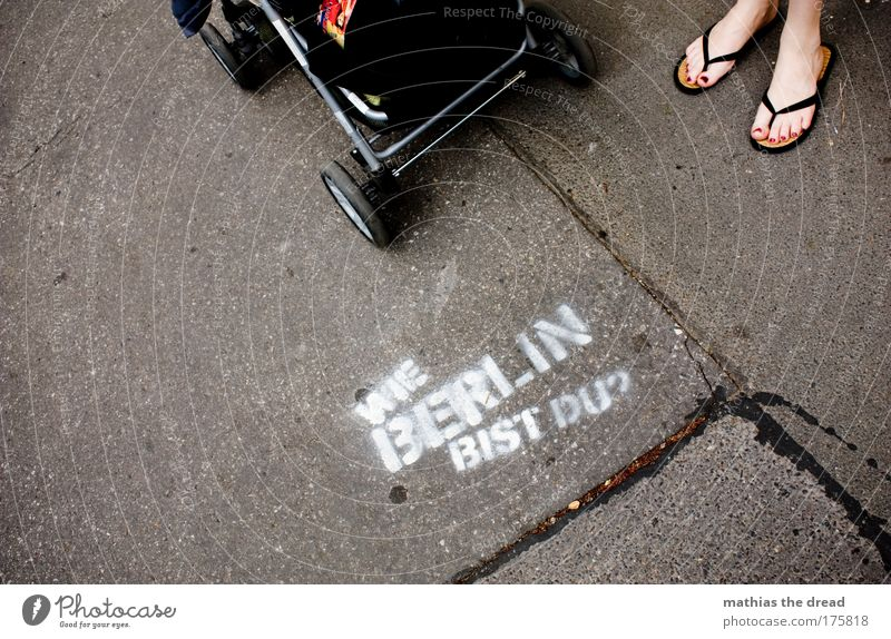 City Joy Adults Feminine Graffiti Stone Style Feet Power Elegant Concrete Berlin Characters Exceptional Lifestyle Cool (slang)