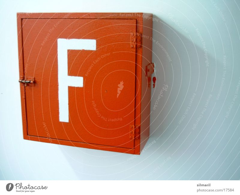 fire Extinguisher Ferry Photographic technology Blaze red box Letter F