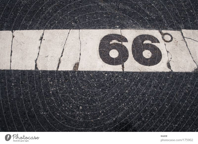 Old White Black Warmth Street Line Transport Climate Signs and labeling Places Trip Simple Stripe Digits and numbers Dry