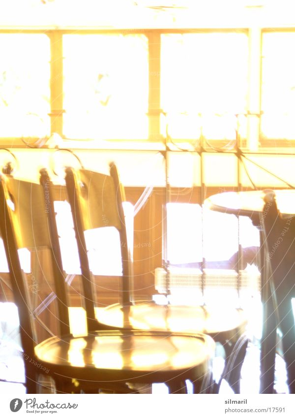 Let the sun in Café Bar Tavern Restaurant Light Bright Illuminate Table Chair Window Things Coffee