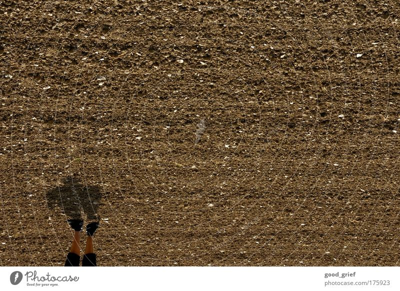 Human being Man Adults Boy (child) Art Brown Field Masculine Stand 18 - 30 years Agriculture