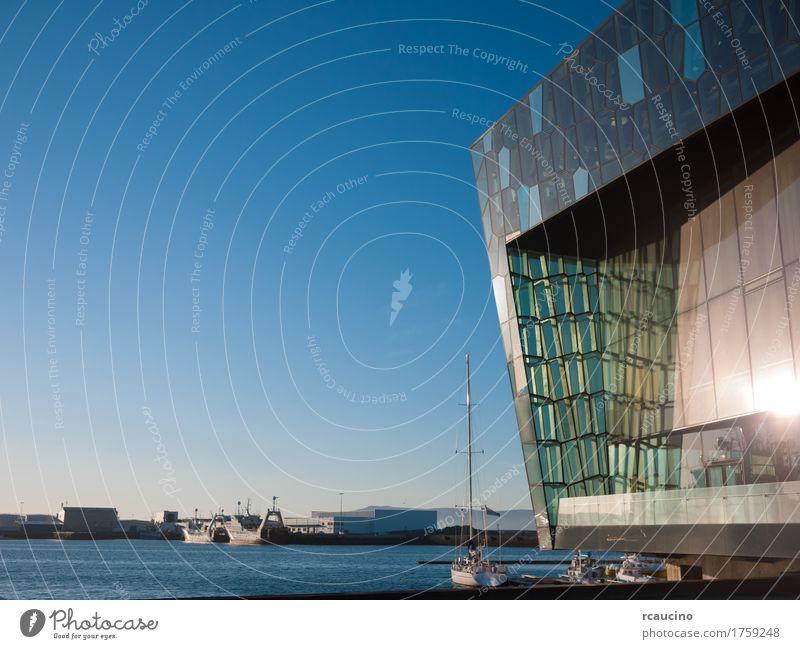 Harpa – Reykjavik Concert Hall - Iceland, Europe Summer Landscape Harbour Architecture Yacht harbour Modern harpa buildging landmark hall Reykjavík