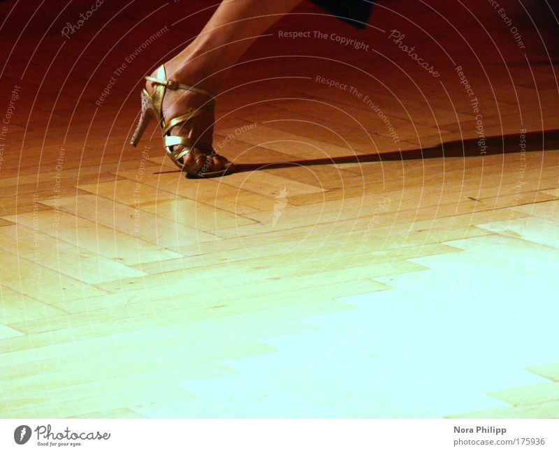 Human being Woman Adults Yellow Feminine Movement Feet Art Dance Footwear Gold Elegant Energy Dance event Esthetic Event