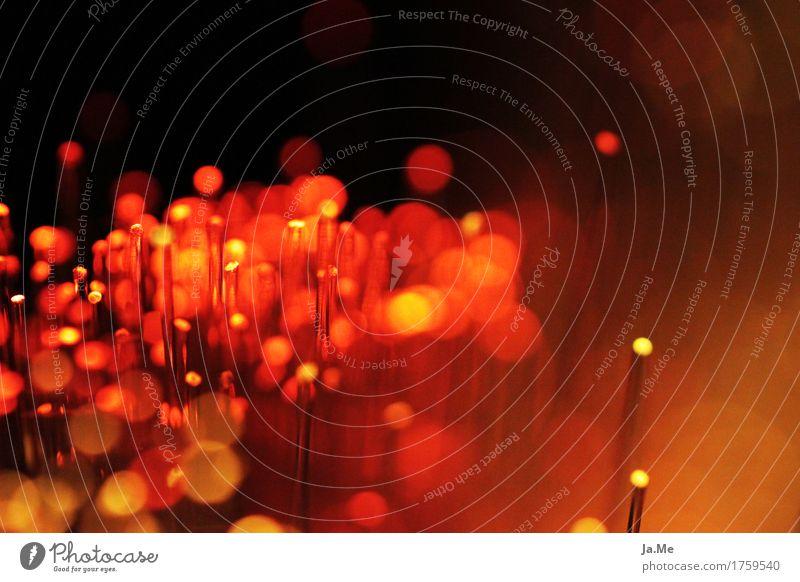 Red Dark Black Warmth Yellow Lighting Lamp Moody Orange Glittering Illuminate Glass Plastic Near Exposure LED