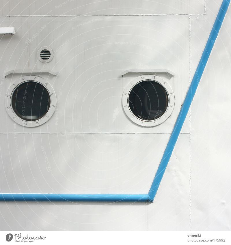 White Window Line Round Harbour Navigation Cruise Means of transport Watercraft Ventilation Porthole Boating trip Passenger ship