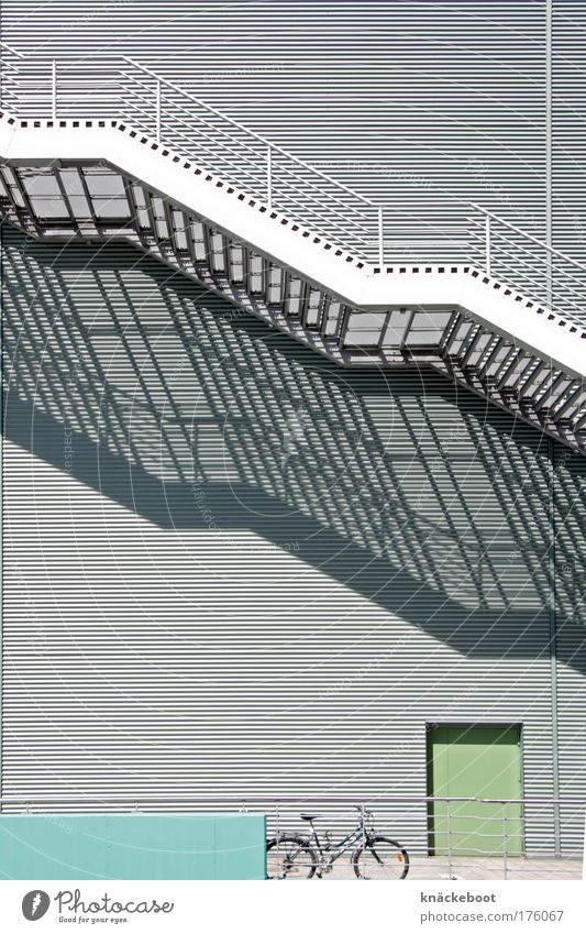Cold Wall (building) Architecture Gray Building Wall (barrier) Facade Stairs Modern