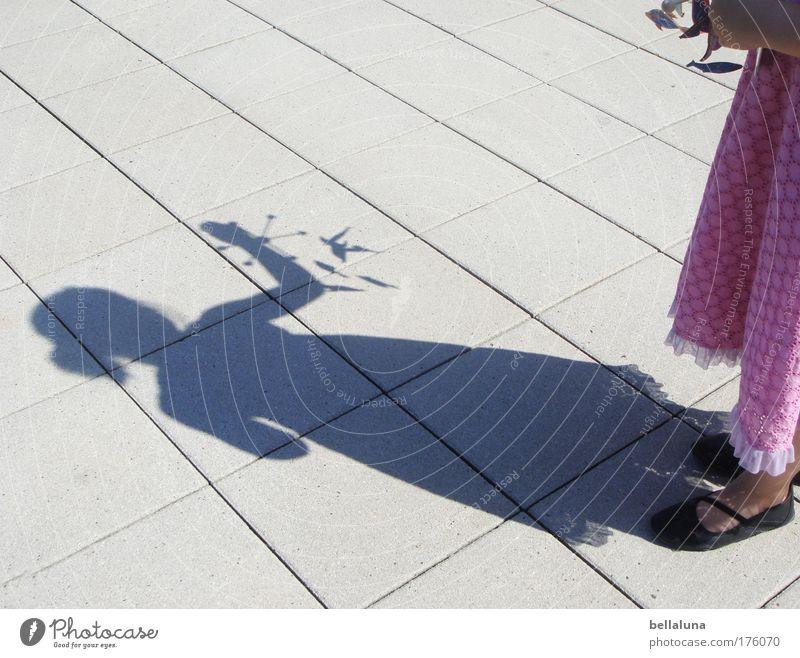 Human being Child Girl Joy Feminine Happy Moody Infancy Footwear Happiness Dress Enthusiasm 3 - 8 years Paving tiles Mobile