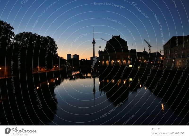 City House (Residential Structure) Berlin Beginning River Skyline Tourist Attraction Capital city Downtown Museum Television tower