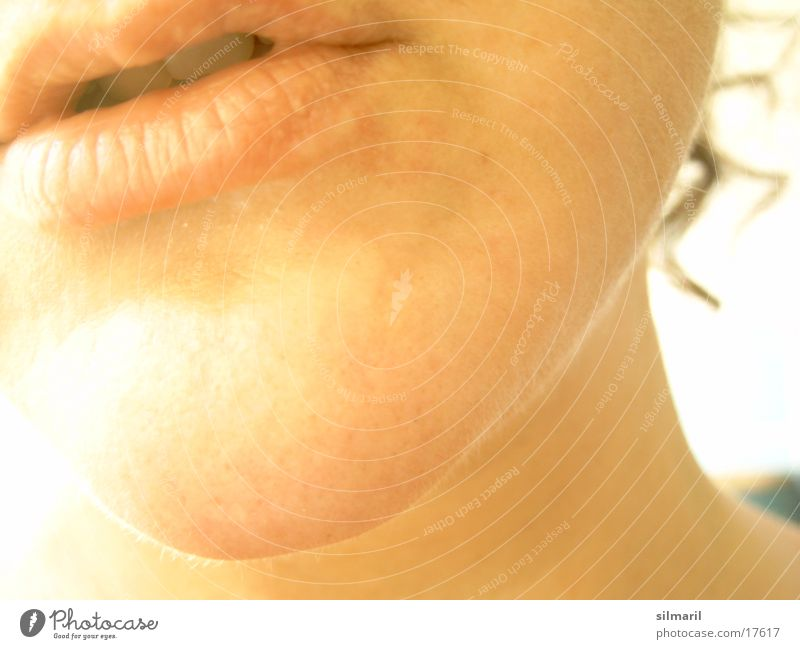 Woman Face Adults Skin Mouth Bathroom Lips Personal hygiene Curl Neck