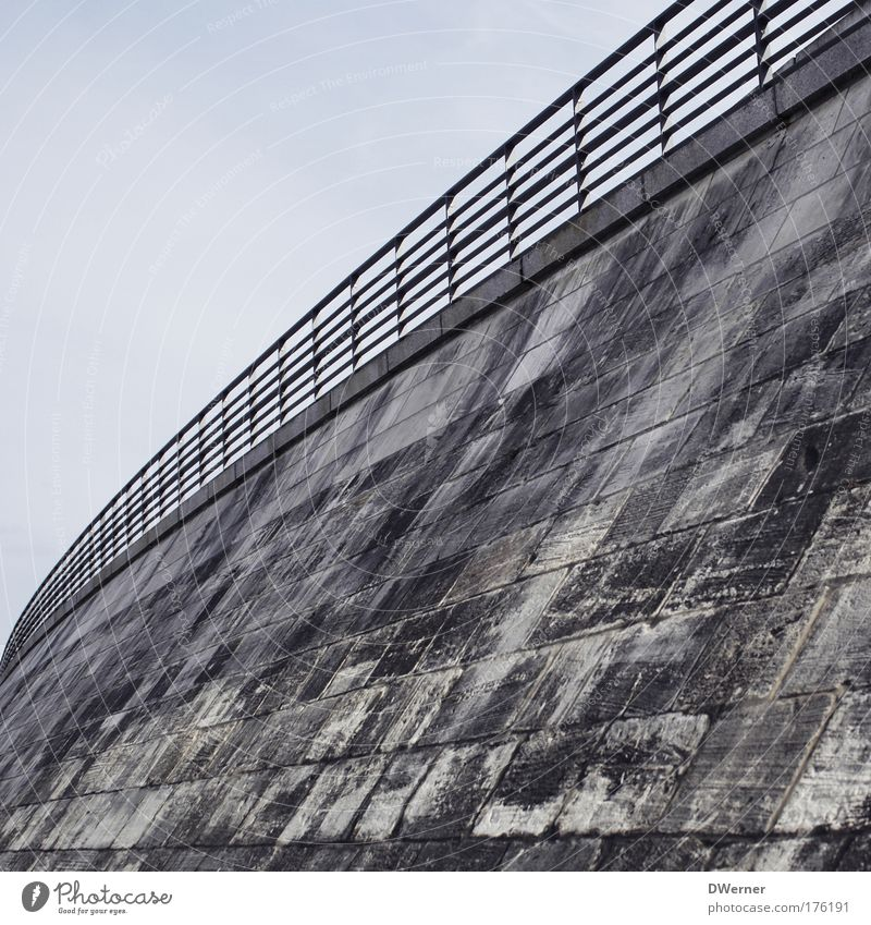 Summer Street Wall (building) Architecture Style Wall (barrier) Moody Art Horizon Elegant Concrete Trip Tall Bridge Dangerous