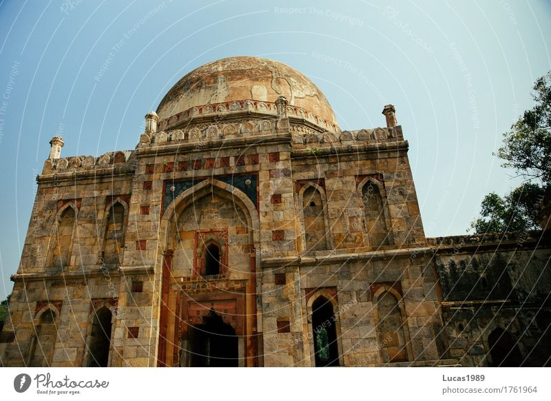 Bara-Gumbad, Delhi, India Vacation & Travel Tourism Trip Far-off places Sightseeing City trip Park lodi garden Ruin Mosque Palace Manmade structures
