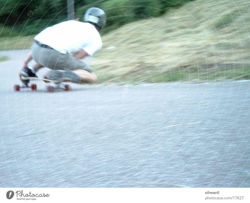Sports Speed Action Cool (slang) Jeans Leisure and hobbies Asphalt Skateboarding Coil Helmet Clothing