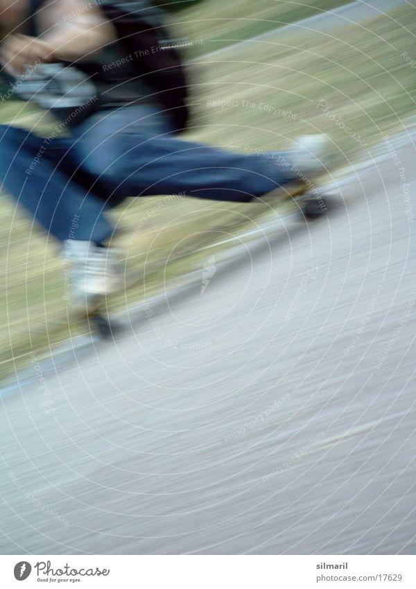 Sports Speed Action Jeans Leisure and hobbies Asphalt Skateboarding Skateboard Coil