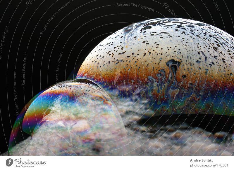 Planet Soap IV Colour photo Multicoloured Studio shot Close-up Deserted Copy Space left Copy Space top Neutral Background Artificial light Flash photo