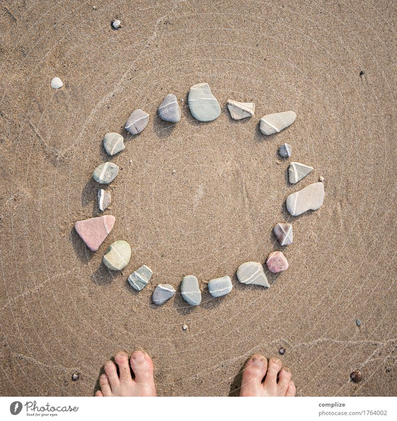 Vacation & Travel Ocean Beach Environment Love Religion and faith Healthy Stone Swimming & Bathing Lake Sand Design Earth Circle Sign Eternity