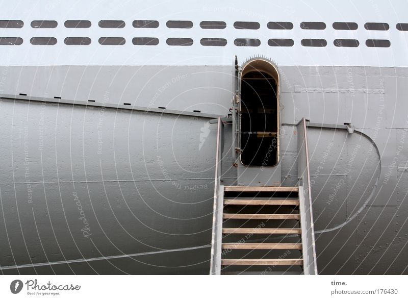 Water Ocean Beach Gray Watercraft Stairs Historic Entrance Museum Vehicle Tin Heavy Captain Hatch Inspection Submarine
