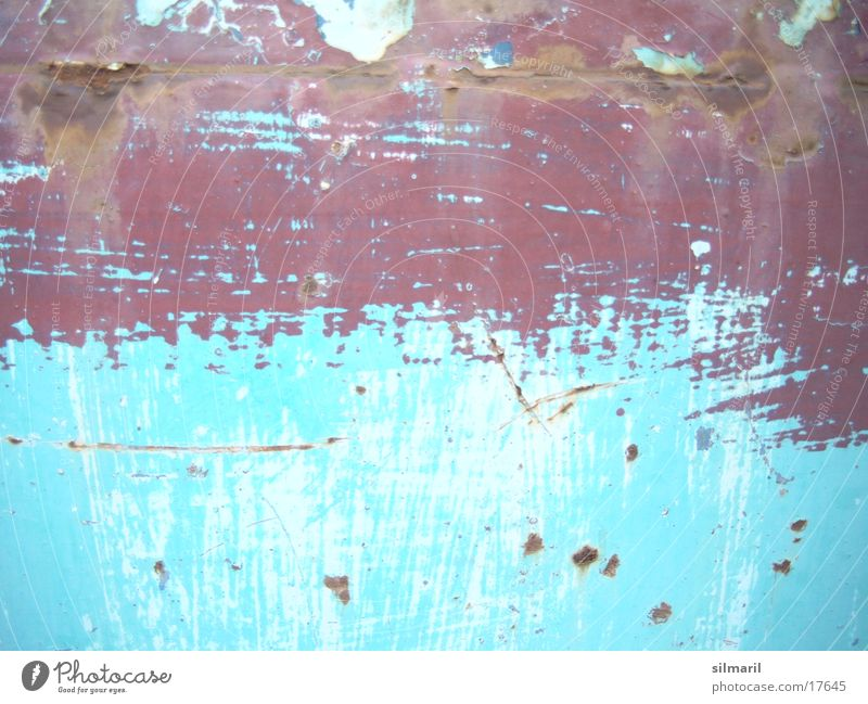 Patina turquoise II Turquoise Paintwork Redecorate Redevelop Old building Rebuild Home improvement Handyman Protective lacquer Rust Modernization Craft (trade)