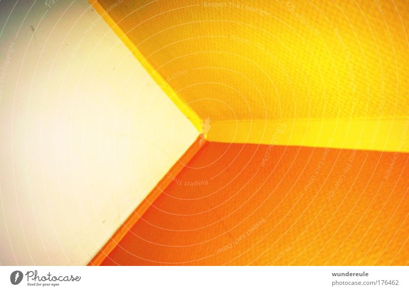 House (Residential Structure) Yellow Wall (building) Wall (barrier) Orange Corner Warm-heartedness Optimism