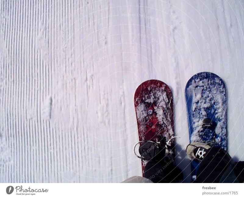Winter Movement Snow Sports In pairs Dynamics Snowboard Winter sports Ski lift Ski run Side by side Snowboarding Ski tow
