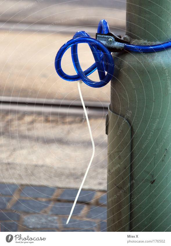 Blue Closed Lock Theft Criminality Lack Purloin Burglar-proof