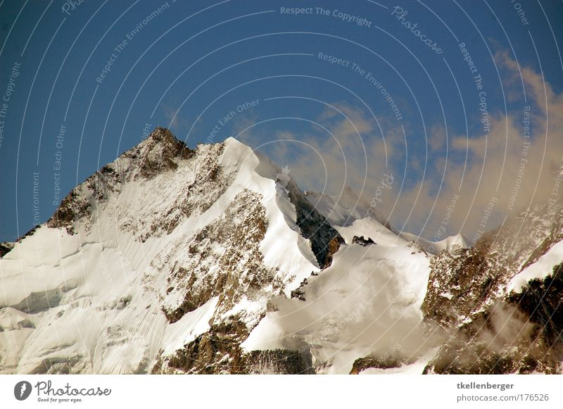 Nature Blue White Landscape Clouds Winter Mountain Snow Brown Air Tourism Wind Threat Peak Alps Snowcapped peak