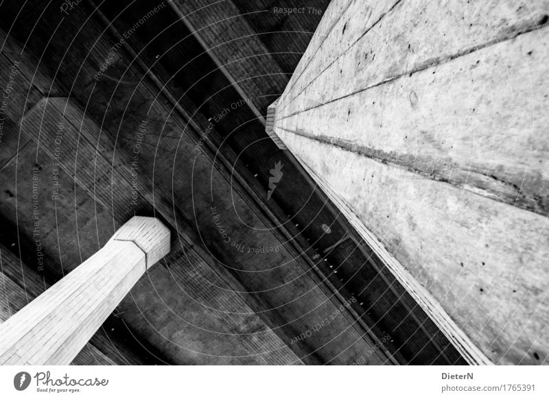 concrete Deserted Bridge Tunnel Manmade structures Building Architecture Highway Gray Black White Concrete Concrete slab Column Structures and shapes Line
