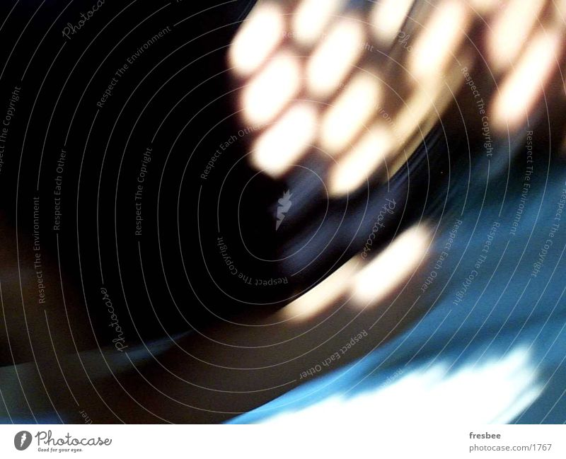 summer afternoon Light Stripe Motion blur Photographic technology Movement Reflection Blue Point Dynamics Arm Blur