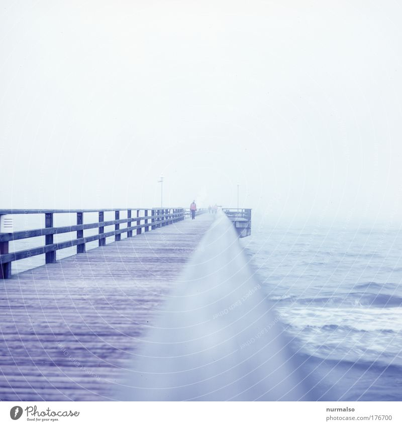 Nature Water Winter Beach Cold Freedom Sand Landscape Ice Moody Coast Hiking Going Fog Horizon Bridge
