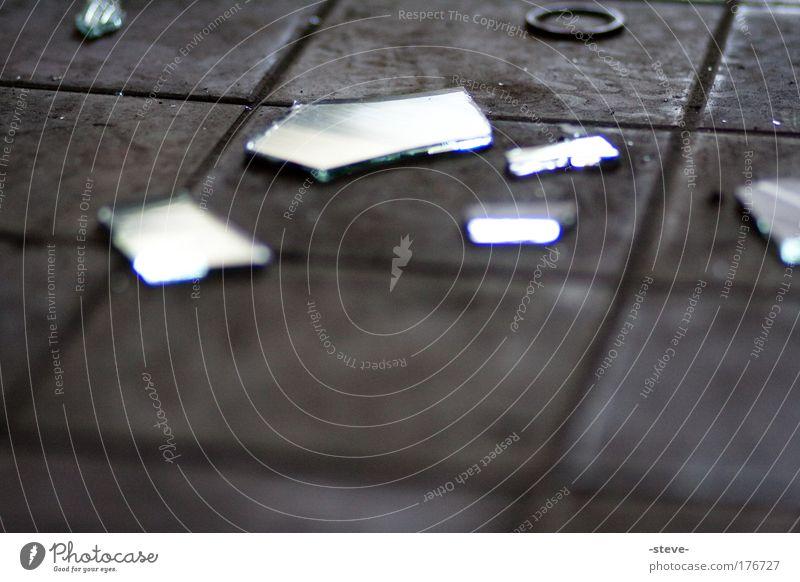 Black Dark Sadness Dirty Glass Gloomy Broken Mirror Tile Industrial plant Shard Splinter