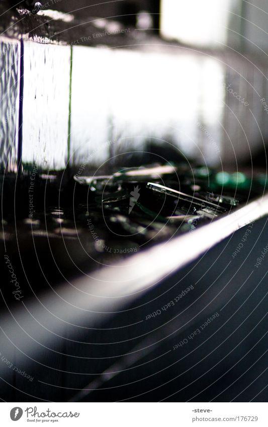 Black Dark Glass Broken Mirror Tile Industrial plant Shard Splinter