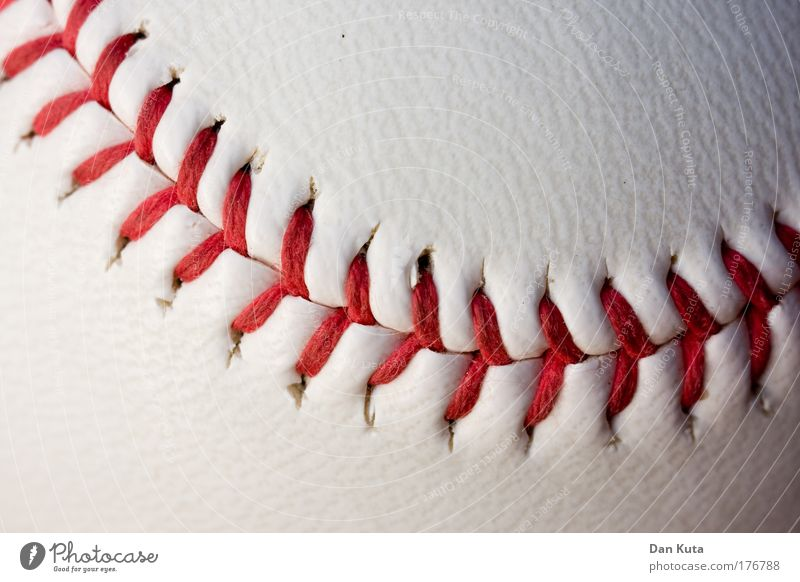 Nah(t)-image Sports Ball sports Baseball Collector's item Leather To hold on Playing Authentic Red White Joy Success Passion Acceptance Disappointment Effort