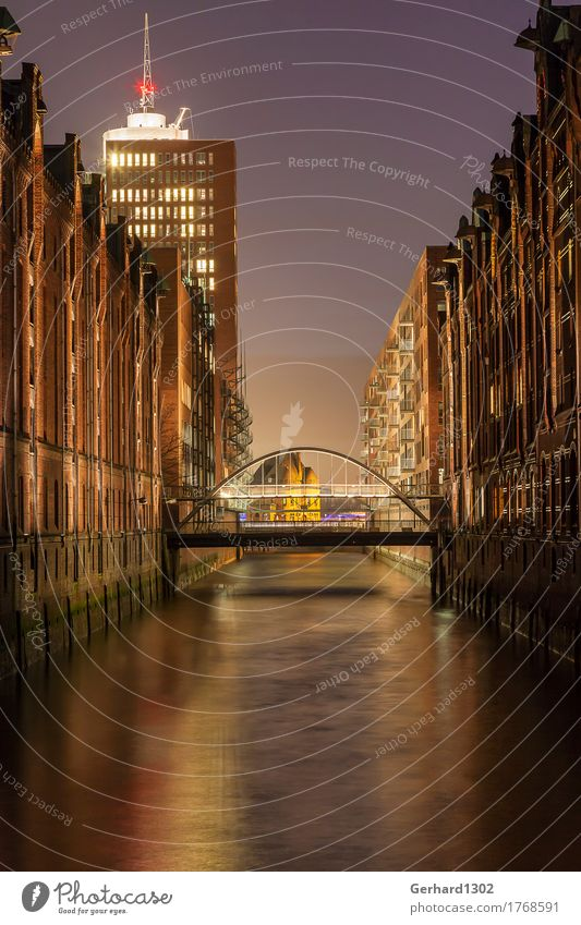 City Water Architecture Business Moody Tourism Office Growth Shopping Bridge Hamburg Change Logistics Harbour Tourist Attraction Landmark