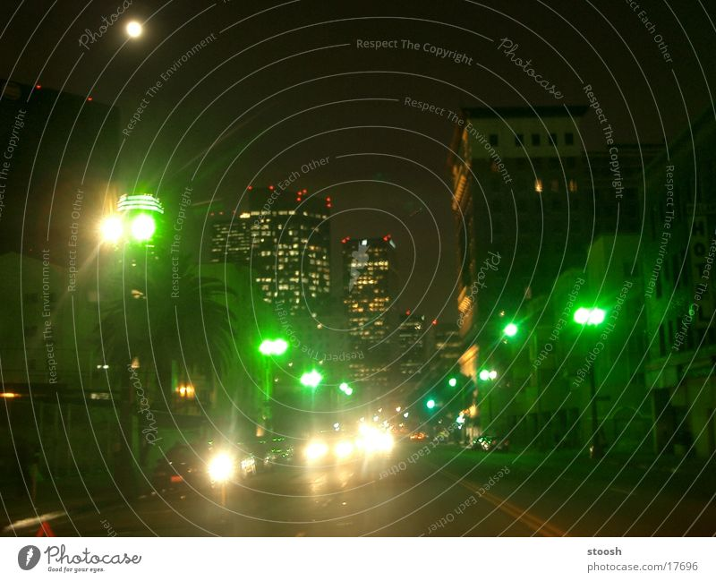 downtown California Los Angeles Downtown Light Green North America USA whilshire blvd