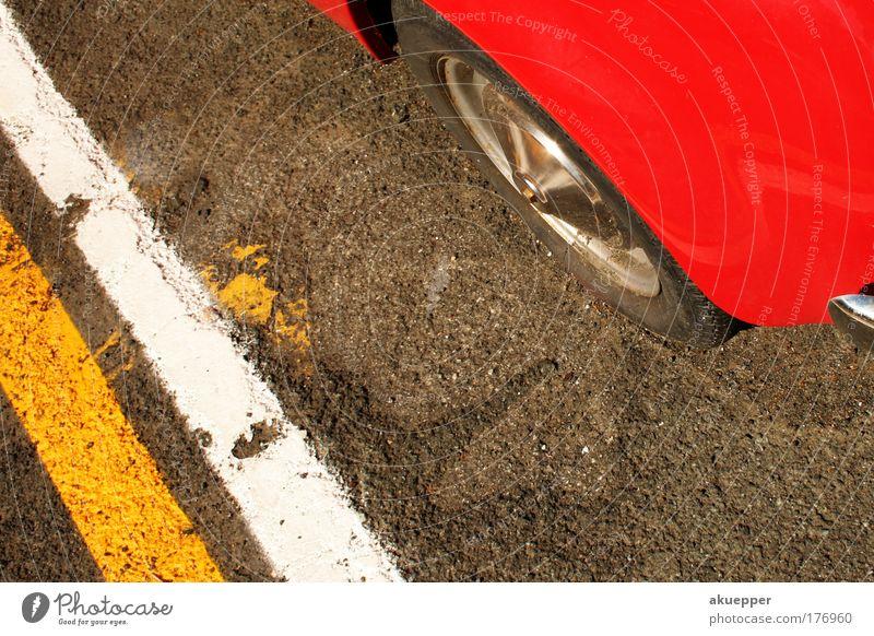 Old Street Car Line Road traffic Search Free Asphalt Parking lot Vintage car Find Coated Marker line