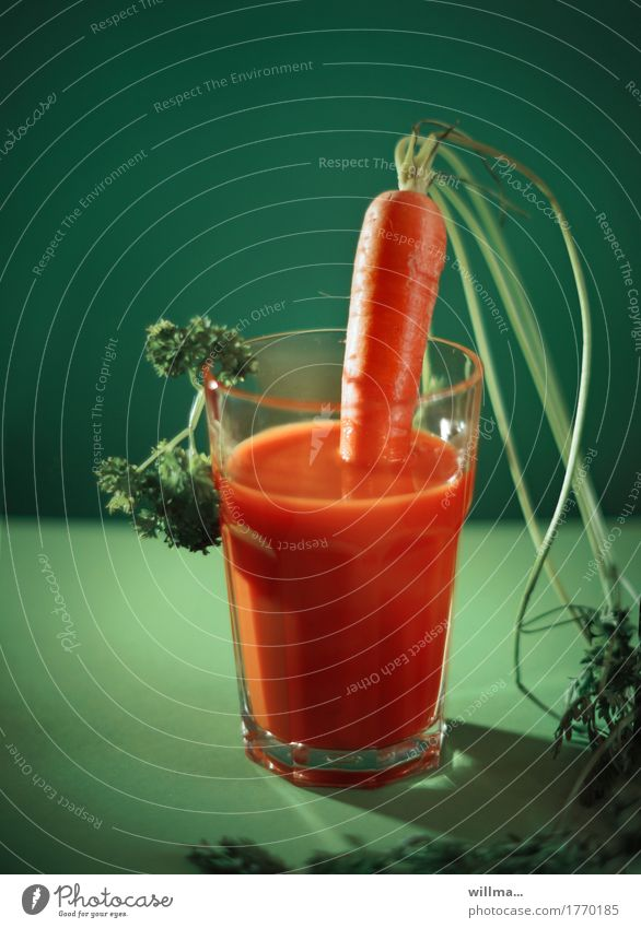 Green Healthy Eating Orange Beverage Vegetable Organic produce Vegetarian diet Diet Carrot Parsley Punch