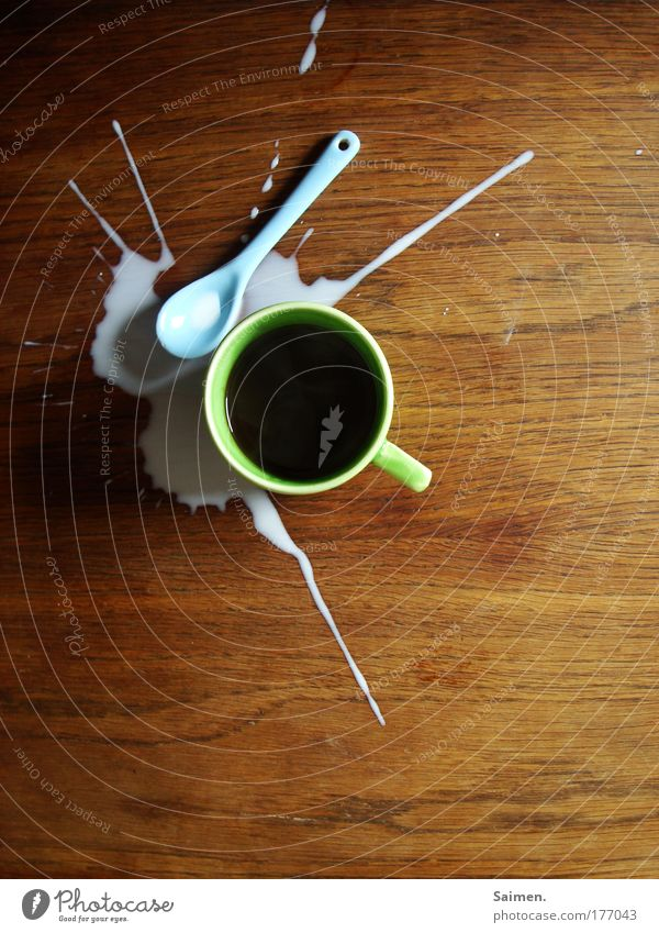 Table Beverage Coffee Cup Side Disaster Spoon Adversity Unload Daub Spill To have a coffee Hot drink