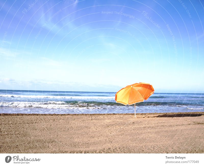 Nature Water Sky Sun Ocean Summer Beach Vacation & Travel Calm Relaxation Dream Sand Landscape Contentment Moody Waves