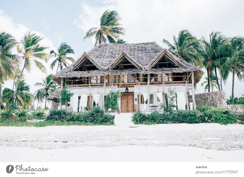 Nature Vacation & Travel Summer Relaxation House (Residential Structure) Calm Beach Architecture Lifestyle Style Building Design Flat (apartment)