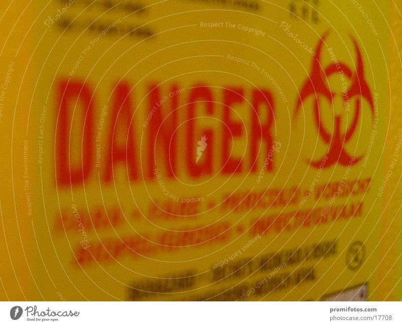 Danger - Danger Health care Signage Warning sign Threat Dangerous Carton Text Typography Pictogram Warning label Clue Biological Health hazard Harmful to health