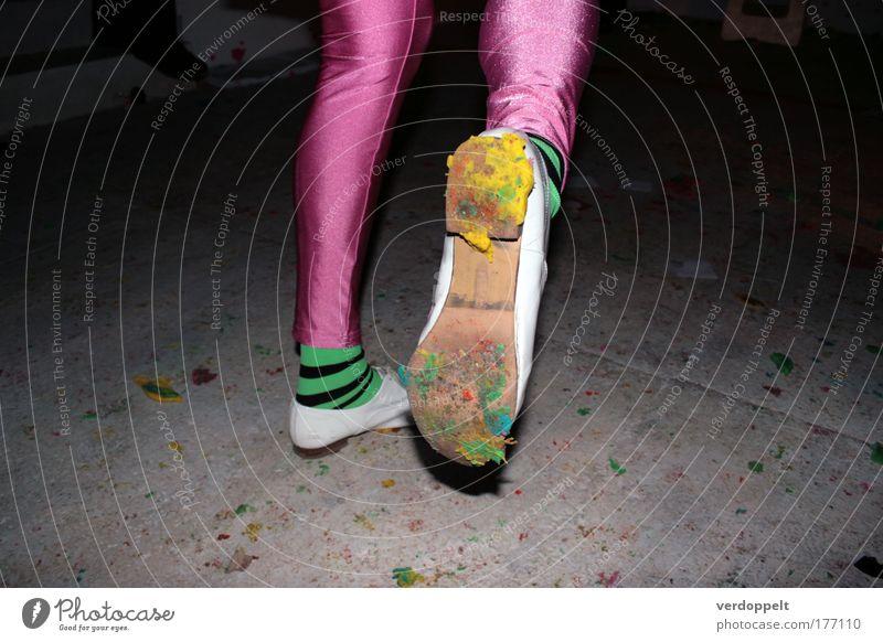 festgeklebt Human being Joy Style Movement Feet Footwear Legs Dance Art Fashion Energy Clothing Lifestyle Fitness Uniqueness