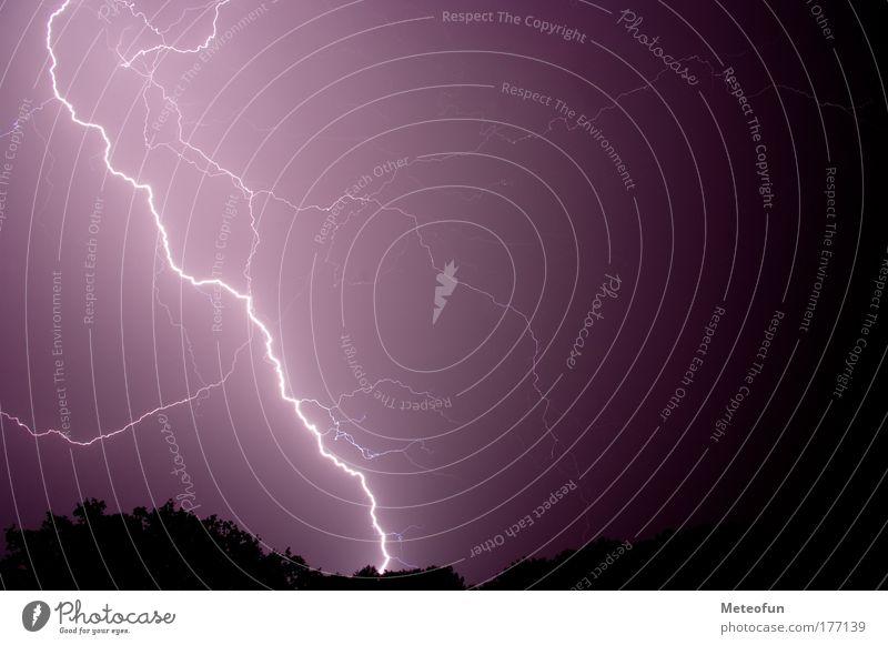 Nature Fear Weather Dangerous Lightning Thunder and lightning Humble