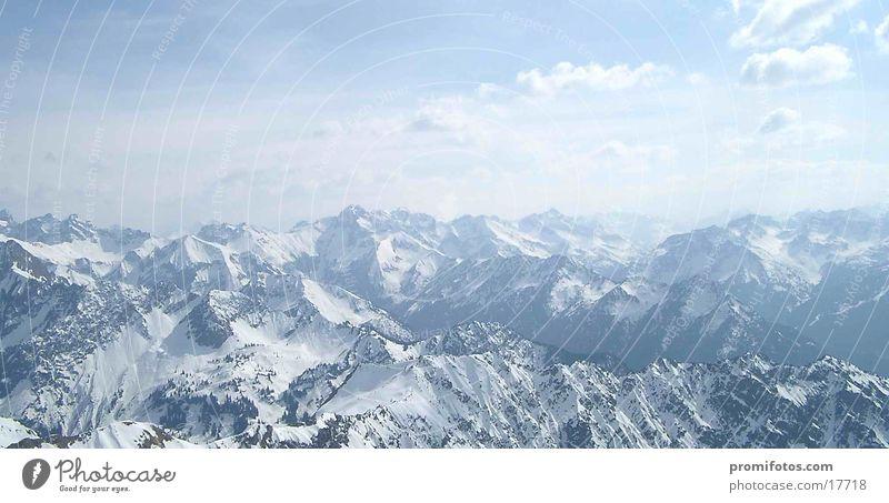 Mountain Large Alps Panorama (Format)