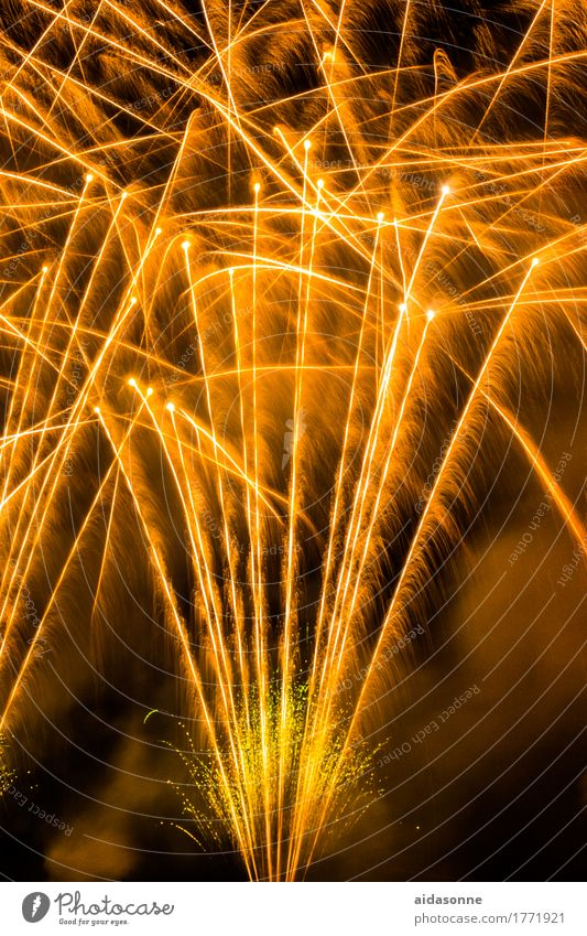 fireworks Night life Entertainment Party Event Music Feasts & Celebrations New Year's Eve Fairs & Carnivals Wedding Art Joy Enthusiasm Colour photo