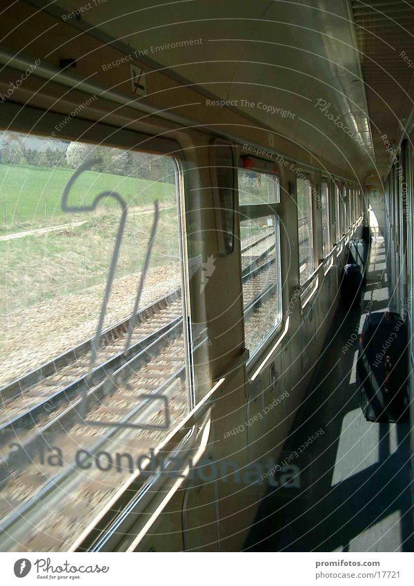 Vacation & Travel Transport Railroad Railroad car Second class