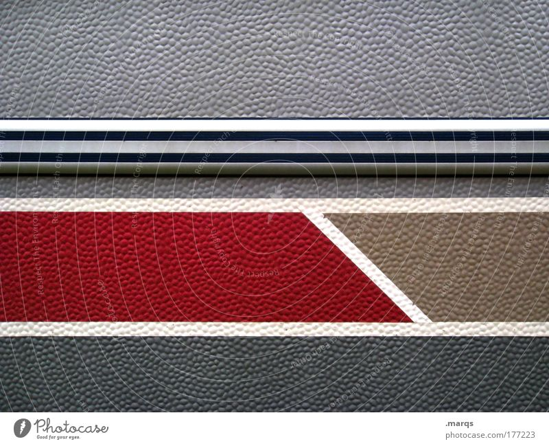 White Red Wall (building) Gray Wall (barrier) Line Design Facade Simple Stripe Uniqueness Illustration Hideous Nerdy