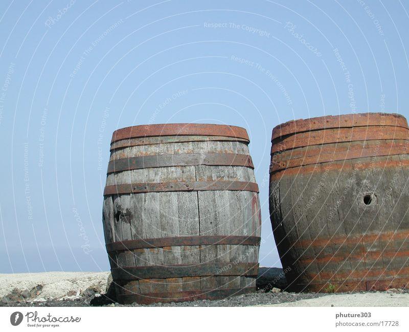 barrels Keg Lanzarote Europe Sky