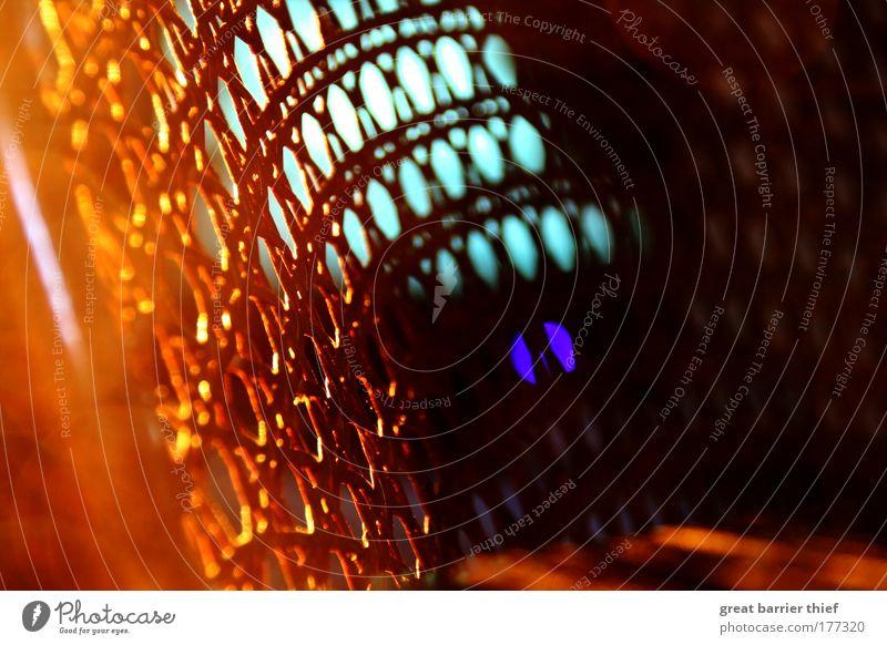 grid tv Colour photo Multicoloured Interior shot Close-up Detail Experimental Deserted Evening Artificial light Contrast TV set Inspiration Chair Grating